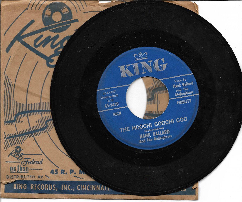 "Hank Ballard: ""The Hoochi Coochi Coo"" / ""I'm Thinking Of You"" - '60 plays well!"