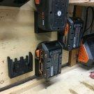 10 Pack Ridgid 18v Battery Mount