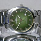 Men's Lee Dungarees Jeans Green WR100 Date Watch Fits Big Wrists. New Battery