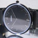 Big 40 mm SKMEI Blackout Ultra Thin Look Luxury Mesh Display Watch. New Battery