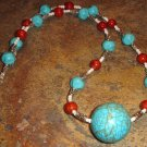 Acadian Sea Song necklace - Turquoise