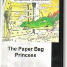 The Paper Bag Princess By Robert Munsch VHS video tape Animated Video Show