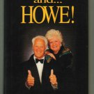 And Howe! Gordie #9 Detroit Red Wings Signed Book Autographed gordy Hardcover