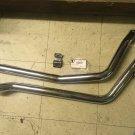 Exhaust Drag Pipe Set Goose for Harley Davidson FXST v-twin 30-2166