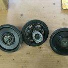 YAMAHA APEX bogie wheels set with bracket