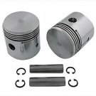 Indian .010 Oversize Piston Kit fits indian chief 74 inch 3.25 bore 49-7001