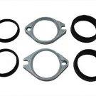 Manifold Flange Seal Kit Zinc    fits Harley Davidson sportster v-twin 35-0161