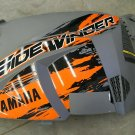 yamaha  sidewinder snowmobile  left fairing  orange and grey  8KC-K8130-10-00