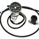 Mini 60mm Speedometer Kit fits Harley Davidson sportster v-twin 39-0578