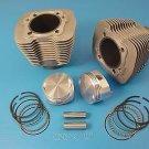 """88"""" Evolution Big Bore Cylinder Kit Silver  for Harley Davidson v-twin 11-0094"""