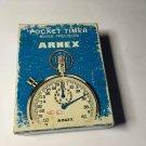 Vintage Arnex Pocket Timer Swiss Made