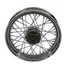 16 inch rear twirled Spoke Wheel fits Harley Davidson sportster v-twin  52-0177