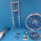 39 mm Fork Assembly and wheel kit fits Harley Davidson sportster v-twin 24-1050
