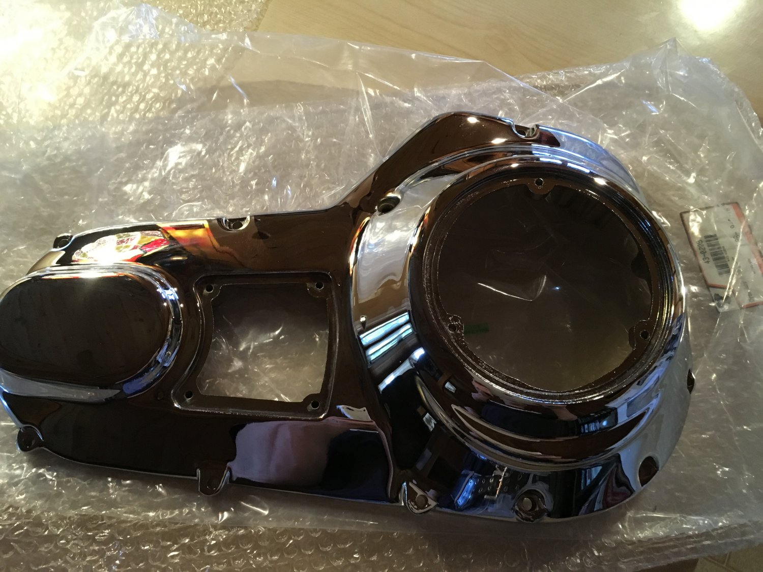 Chrome Outer Primary Cover for Harley Davidson OEM No: 60665-85B FL 1985-88