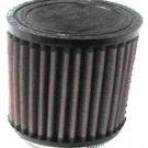 K&N Engineering Universal Round Straight Air Filter RU-0810 Black
