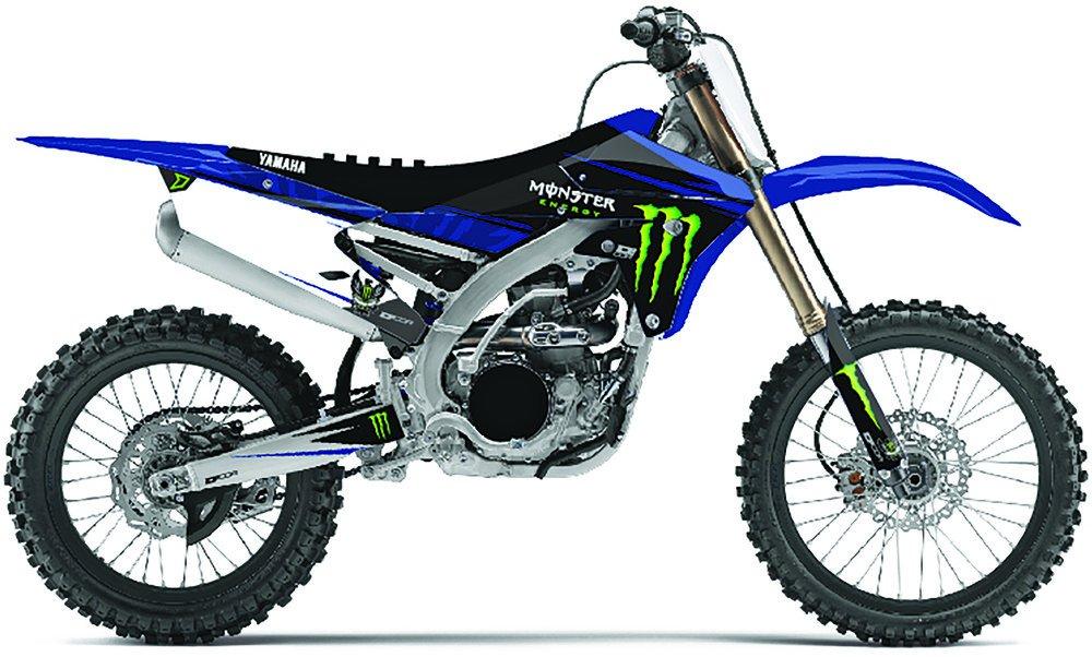 Dcor Monster Energy Full Graphic Kit For Yamaha YZ 125 250 15-18 20-50-129