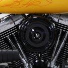"""Black 1993-2007 FXD & FXST 7"""" Wyatt Gatling Air Cleaner Assembly 34-1601"""