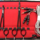 "Non Stick Bipolar Artery Sealer Forceps Set 6.5"" & 8.5"" With Silicon Cord"