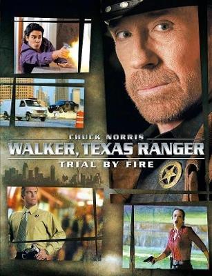 Walker, Texas Ranger Trial by Fire DVD 2005 TV Movie Chuck Norris