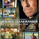Walker, Texas Ranger Trial by Fire DVD 2005 TV Movie Chuck Norris