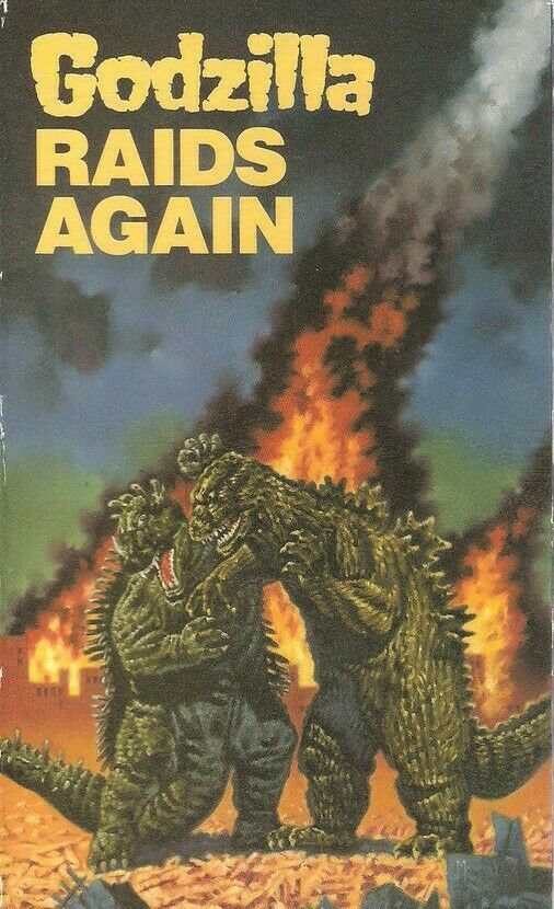 Godzilla Raids Again DVD English Dubbed Movie Anguirus Monster