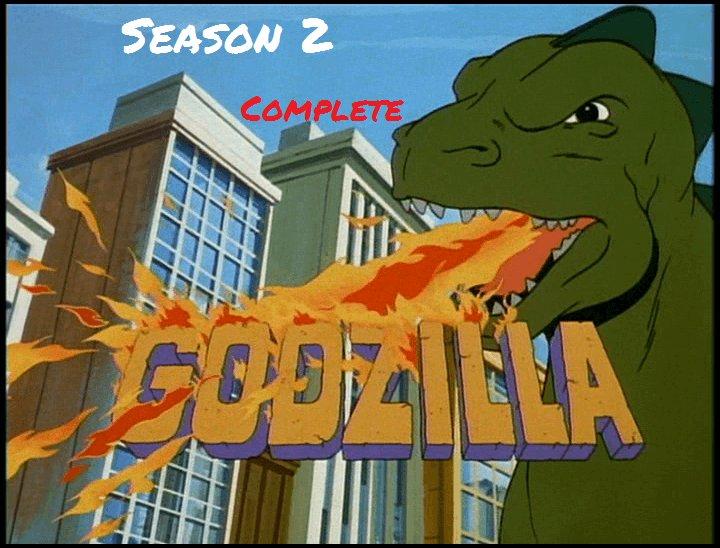 Original 1978 GODZILLA TV Series Season 2 Made on Demand DVD Reg1