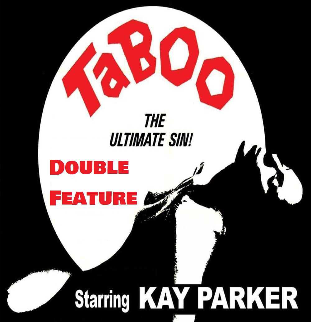 Double Feature Taboo 1 and 2 Kay Parker Movie Made on Demand DVD Reg1