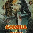 Godzilla vs. Megalon Monster English Dubbed Made on Demand DVD Reg1