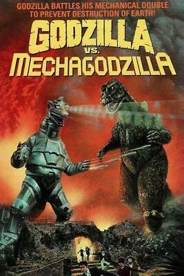Godzilla vs Mechagodzilla Monster English Dubbed DVD Region 1