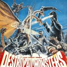 Godzilla Destroy All Monsters [DVD] Manufactured On Demand Region 1 SHIPS FAST!