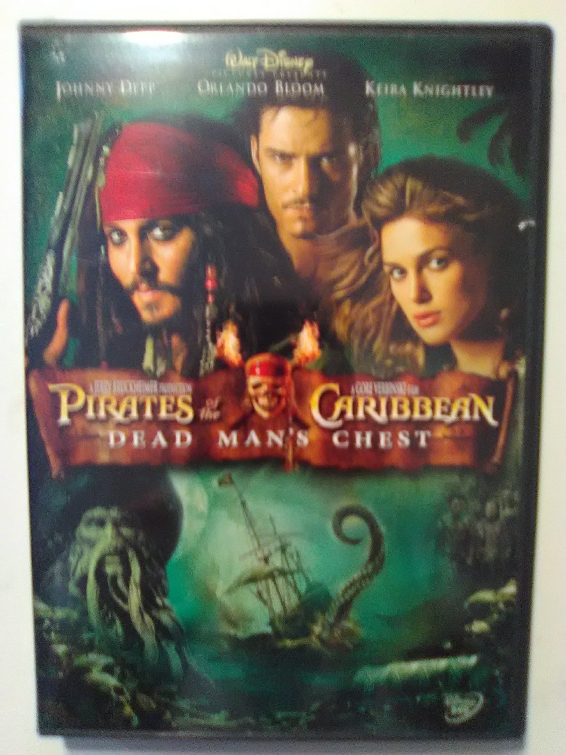 Pirates of the Caribbean  dead man's chest.  (2006)