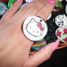 Unique Hello Kitty Big Ring - FREE SHIPPING