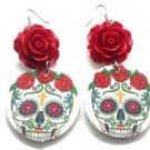 Sugar Skull Earrings - FREE SHIPPING