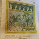 "Needlepoint kit Garden Room by Athena Crafts CC103  vintage 1976  12"" x 13"""
