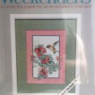 Weekender Snack time cross stitch kit 02723 Hummingbird feeding mat included