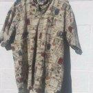Mens Salmon River Traders SS 100% cotton 2XLT fishing camping shirt Big & Tall