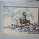"""Creative Expression 3839 A WATCH FROM THE SHORE Needlepoint kit 16 x 12"""" 1982"""
