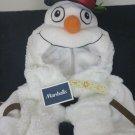 Snowman Soft Plush Full Body Costume Toddler Size 3T Halloween or Christmas