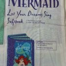 "Cut and Sew Little Mermaid Ariel softbook with padding ""Let your dreams sing"""
