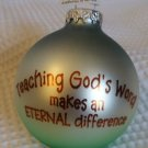 Christmas ornament for teacher
