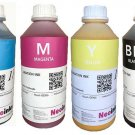 Dye Sublimation Inks For Desktop Printers 4 Colors X 1000ml Free Shipping