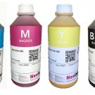 Dye Sublimation Inks For Epson Workforce Printers 4 Colors X 1000ml Free Shipping