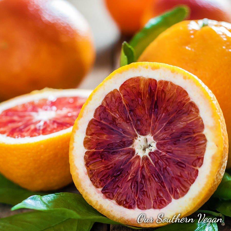 36 Blood Orange, Vegan Tea Light, Tea Light, Scented