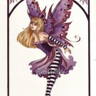 NEW AMY BROWN Print SWEET FAERY 8.5 x 11 FAIRY Fairies