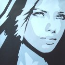 C18 Eva Longoria Modern Pop Art painting on Canvas