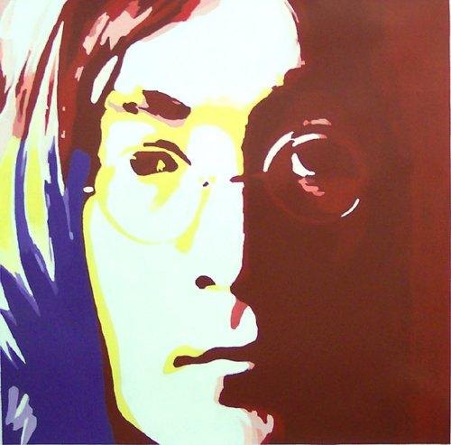 """007 john lennon Pop Art Modern Painting 20""""20"""