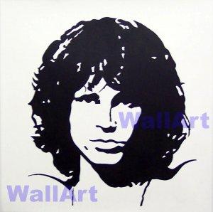 Jim Morrison Pop Art Modern Painting B N W 2020 005