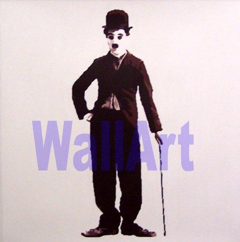 """016 Charlie Chaplin Pop Art modern Painting 20""""20"""