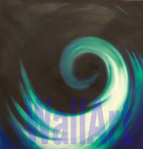 "028 Swirl Pop Art Modern Abstract Painting  20""20"