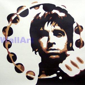 078 Noel Gallagher Oasis Pop Art Modern Painting Canvas
